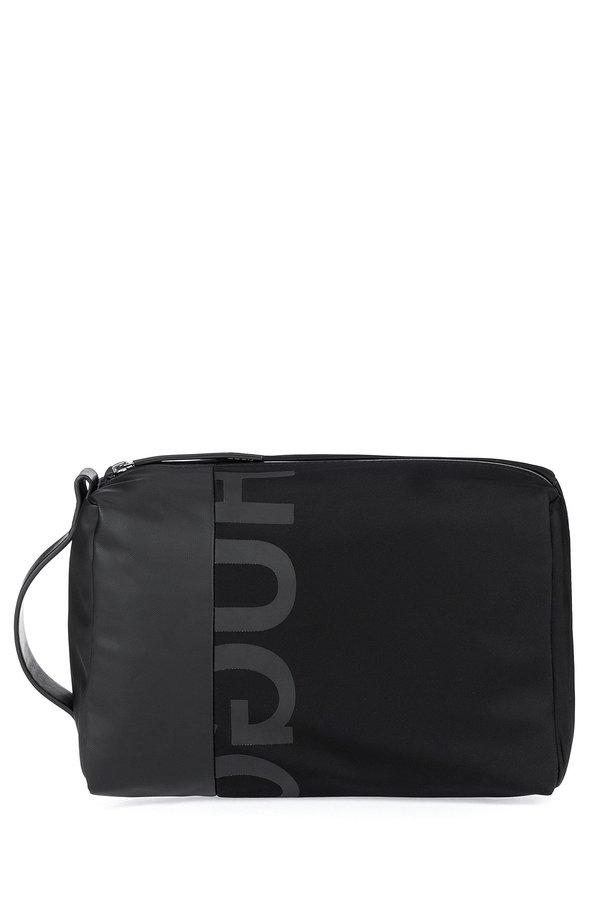 f5669312c72f8 Hugo Boss Tech Wash Bag - Black | Garmentory
