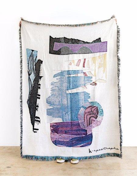 K-Apostrophe Residual Throw Blanket