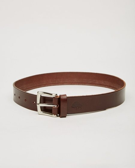 EZRA ARTHUR NO. 1 BELT - BROWN