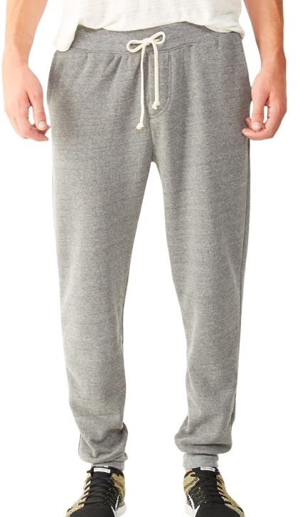 ALTERNATIVE APPAREL Dodgeball Eco-Fleece Pants - Athletic Grey