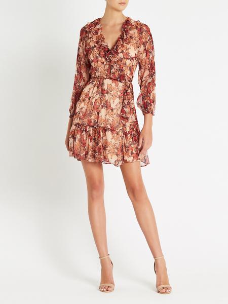 IRO Pacify Dress - ORANGE