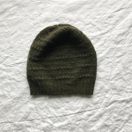 Ros Duke Textured Cashmere Beanie Hat