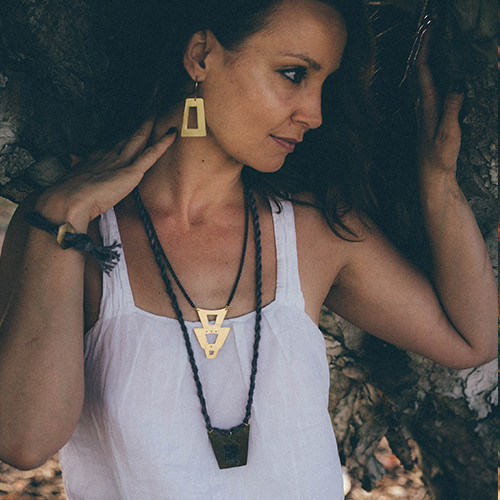 Layers of Earth Mollie Necklace