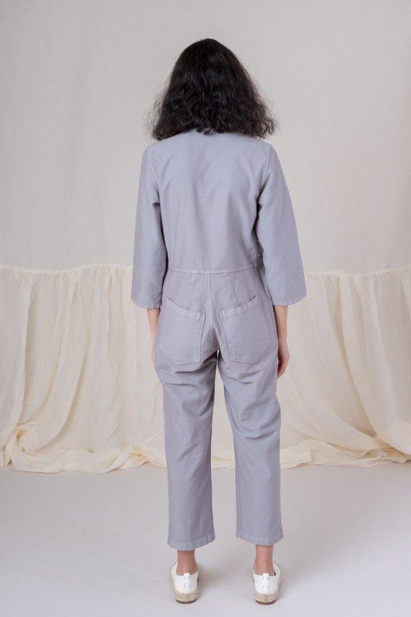 adc7195a2bf9 Caron Callahan Twill Ace Jumpsuit - Grey. sold out. Caron Callahan