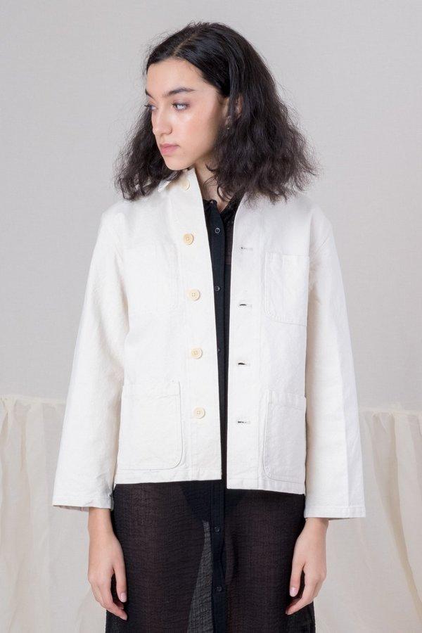 Caron callahan duck canvas krasner jacket - natural