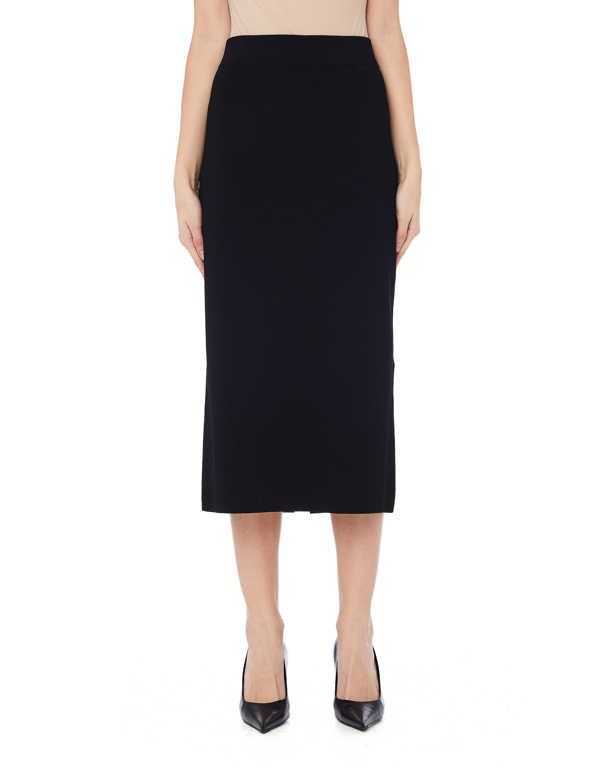 17a13c6edec9 The Row Pencil Skirt - Black   Garmentory