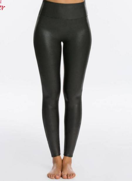 Spanx Faux Leather Legging - Black