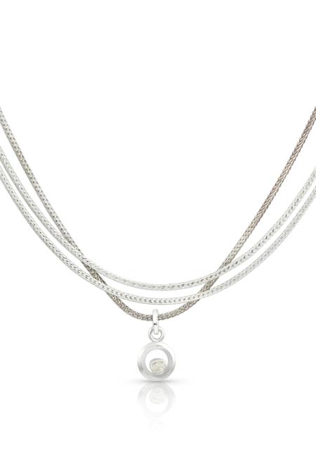 Enji Ausara Necklace - Silver