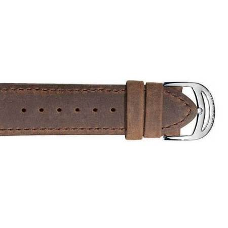 Philip Stein Stitch Thorn Strap - Brown
