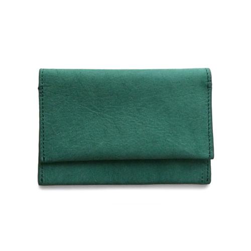 Eayrslee Henry Leather Wallet in Green