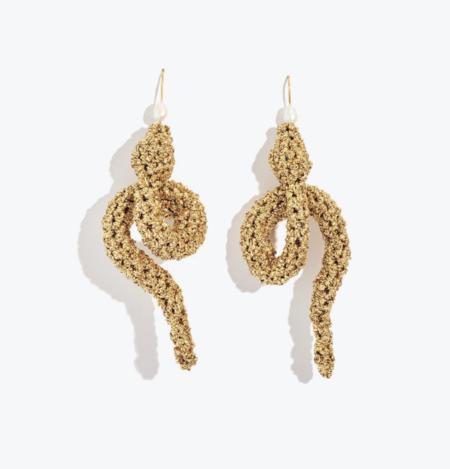 Lucy Folk Serpent Earrings