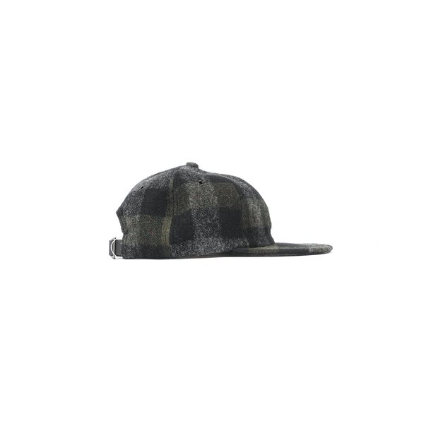 25357718fc5 Norse Projects MOON WOOL FLAT CAP - MAGNET GREY