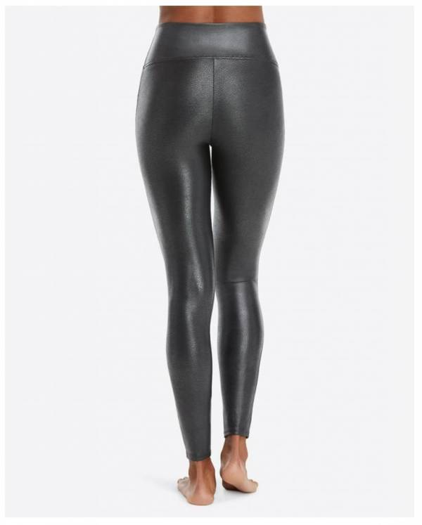 07fb1859223416 Spanx Faux Leather Leggings - Pebble Grey. sold out. Spanx