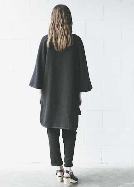 Asian reversible cape