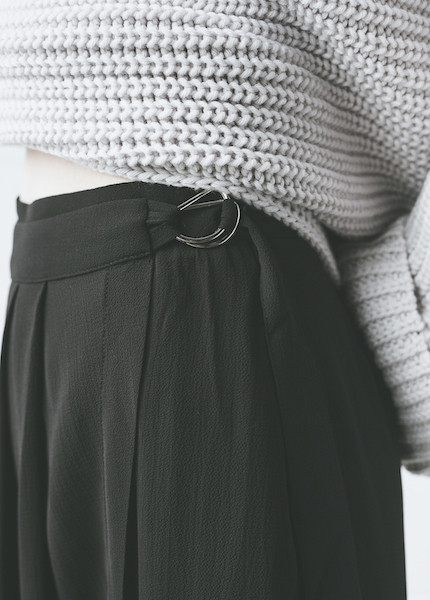 C+L Finds - Aimee Wrap Culottes in Black
