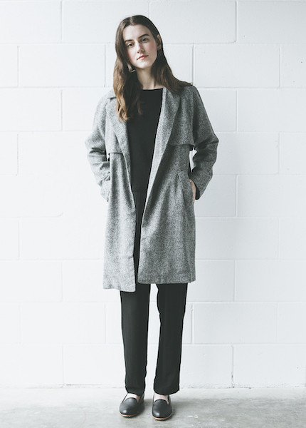 C+L Finds Bobbi Trench in Tweed