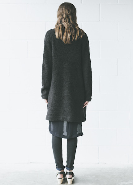 Line Knitwear - Mathis in Caviar