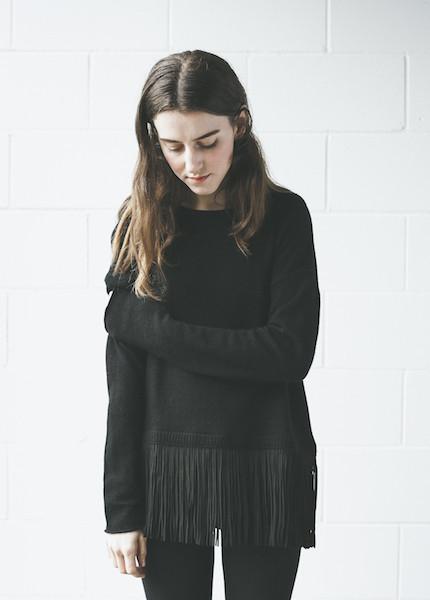 Line Knitwear - Wilde in Caviar