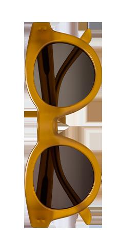 Sun Buddies Type 02 Burnt Honey Sunglasses