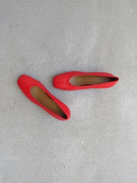 LOQ Camila pumps - Rojo