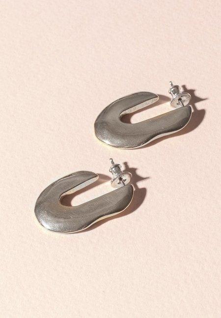 Seaworthy Iesha Hoops - Silver