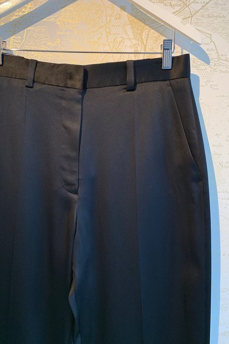 Joseph 'Electra' Silk Pant - BLACK