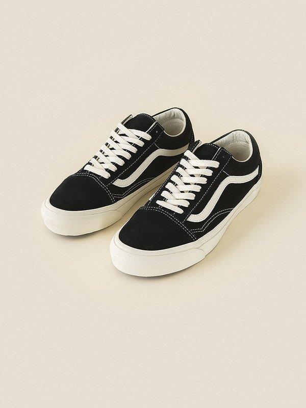 dec2cfd2d5 VANS VAULT OG Old Skool LX Suede Canvas sneaker - Black Marshmallow ...