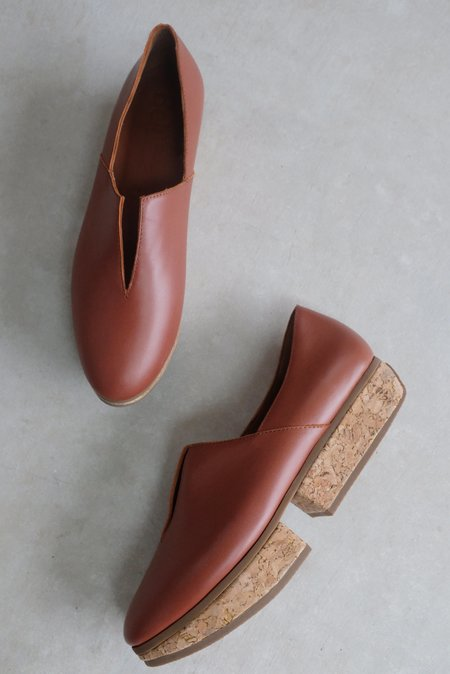 Beklina Tétouan Loafer - Wet Clay