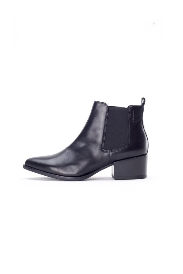 Vagabond marja ankle boot leather - black