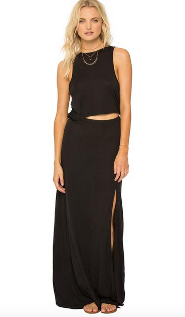 AMUSE SOCIETY Rivea Maxi Dress - Black