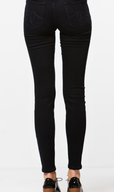 lemlem LEVEL 99 Tanya High Rise Skinny - Black