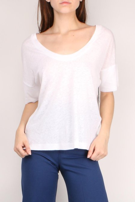 Brochu Walker Shorb Tee - Olympus White