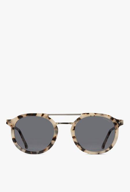 KOMONO Gilles Sunglasses - Ivory Demi
