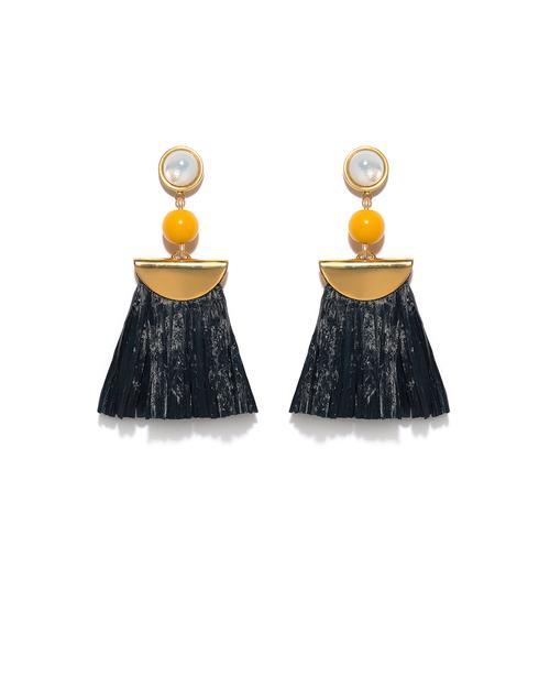Lizzie Fortunato Hula Earrings