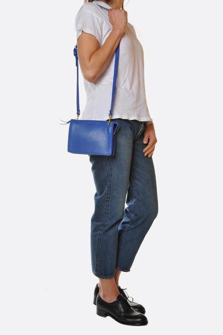 Lotuff Leather The Tripp Bag - Electric Blue