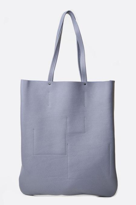 Frrry Rivet Leaf Tote - Grey Mist