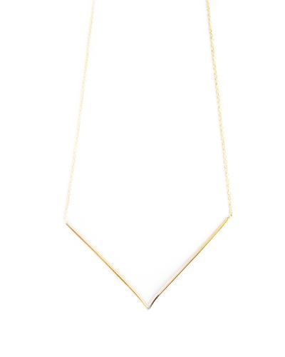 Gabriela Artigas V Necklace in 10K Yellow Gold