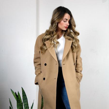 IRO Brandy Wool Coat - Camel