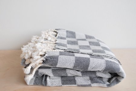 5th26 Checkered Turkish Blanket