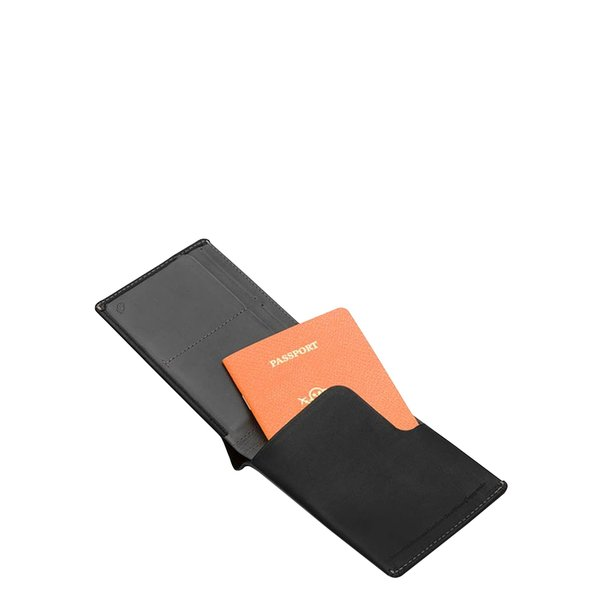 most fashionable attractive style beautiful style Bellroy Travel Wallet RFID - Black on Garmentory