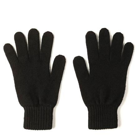 Burrows and Hare 100% Cashmere Gloves - Black