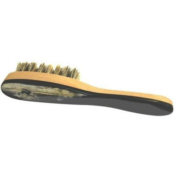 Burrows and Hare Ox Horn Topped & Wild Boar Bristled Pocket Size Beard  Brush on Garmentory
