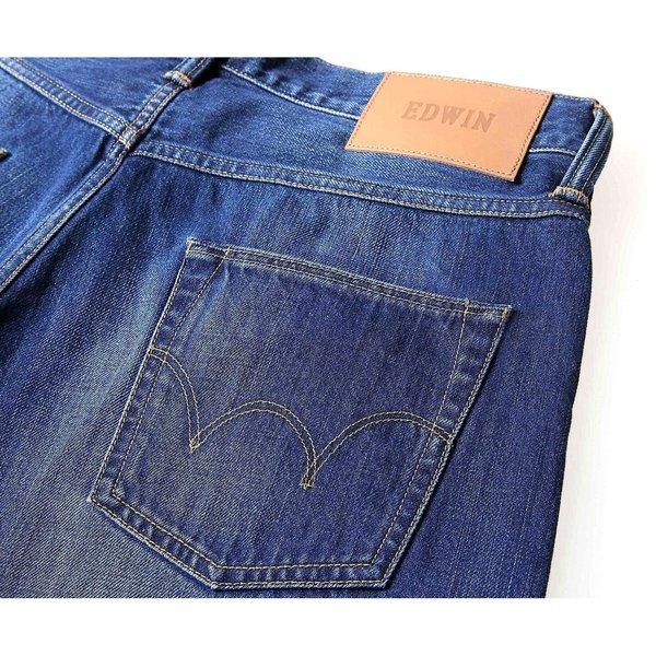 Edwin ED-55 Relaxed Tapered Fit Denim 5 Pocket Jeans - Kiyoshi Wash