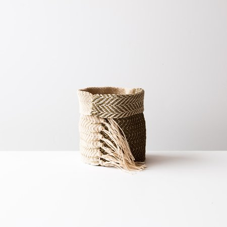 Sainte Marie design textile Hemp Table Basket (Small)