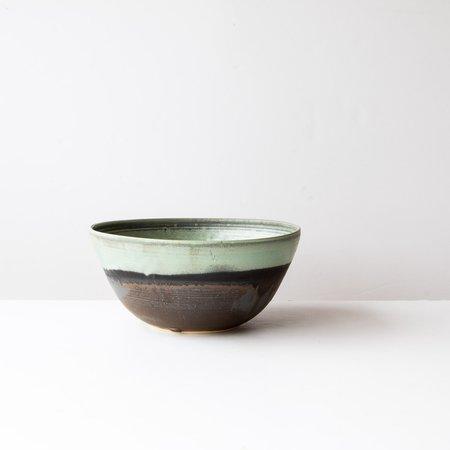 Elisabeth Gauthier Large Turquoise Bowl - Sandstone