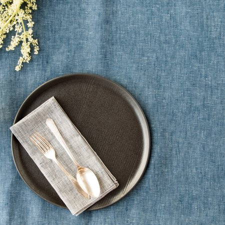 Objective Linen Chambray Tablecloth