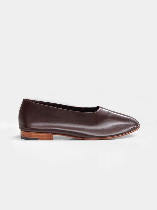 Martiniano Glove Shoe - Dark umber