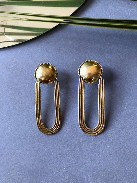 Soleé Darrell Jewelry Moongate Stud Earrings
