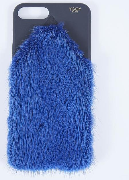 YGGY Mink iPhone 8+ Case - Royal Blue