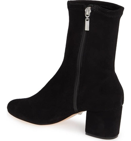 Schutz Lupe Stretch Bootie - black